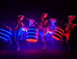 Blackpool Illuminations Briliance - Illuminated Drummers