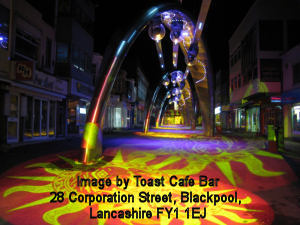 Blackpool Illuminations Briliance image by Coast Cafe Bar