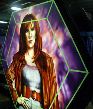 Donna Noble - Dr Who's Assistant - Illuminations Feature
