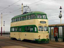 Blackpool Illuminations Double Decker Tram