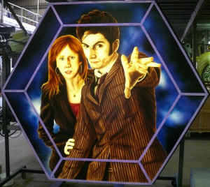 Dr Who and Donna