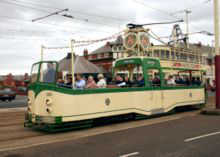 Blackpool Illuminations Open Tram